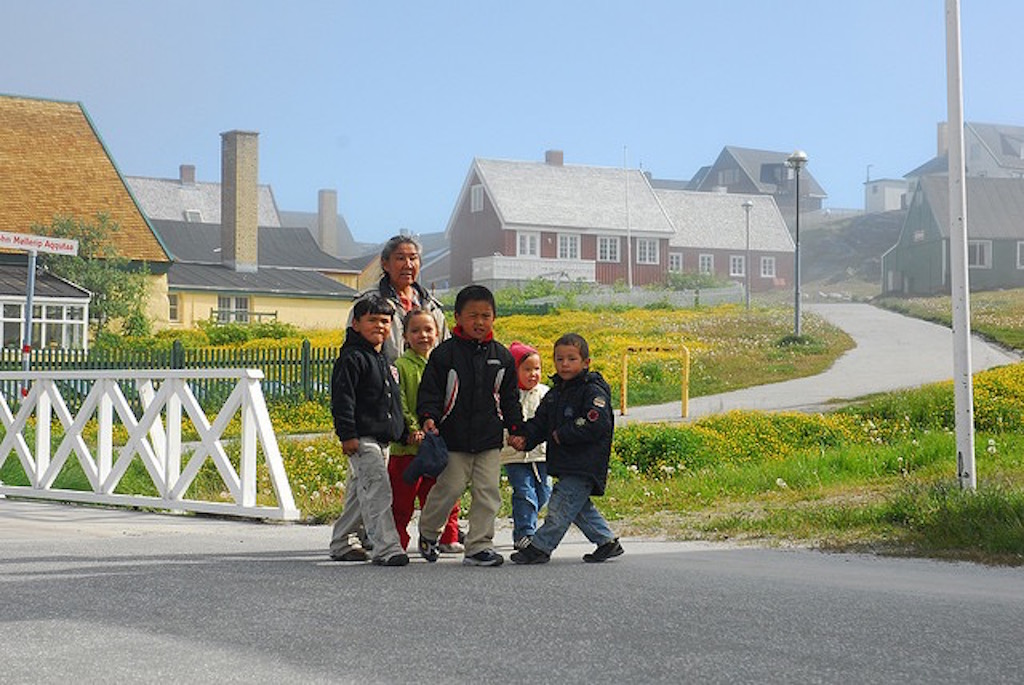 Historical City Walk of Nuuk